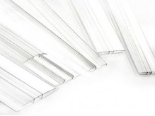 Polycarbonate Profiles for installing accessory