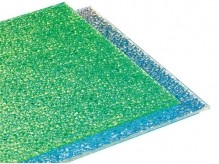 Bling Embossed Bright Polycarbonate Sheet