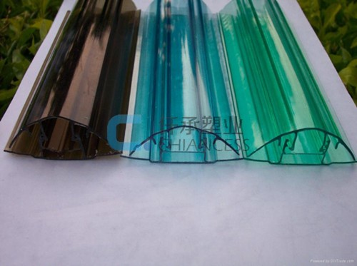 PC Profile for Polycarbonate sheets
