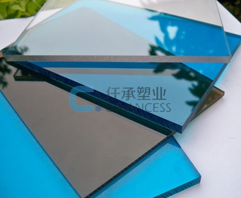 Good quality PC polycarbonate solid sheets with UV Cover